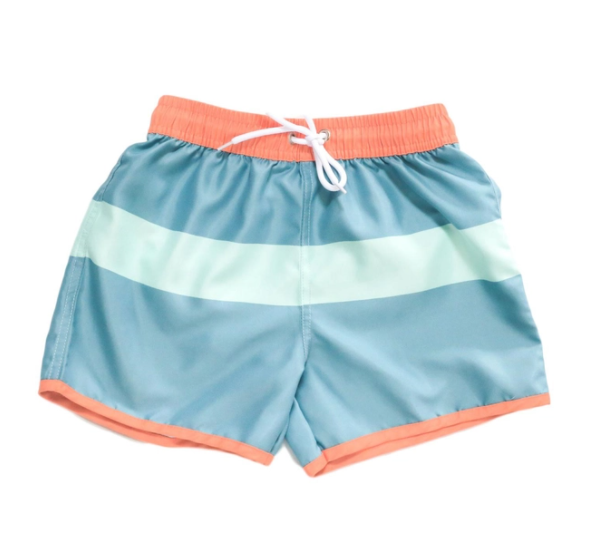 Blueberry Bay Malibu Vitale Swim Trunks