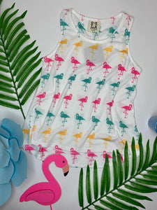 PPLA Flamingo Knit Tank