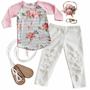 Baileys Blossoms Roxie Jeggings