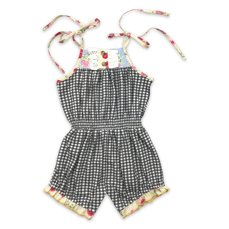 Mustard Pie Strawberry Fields Posey Romper