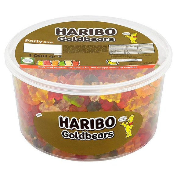 Haribo Gold Bears 1Kg Tub