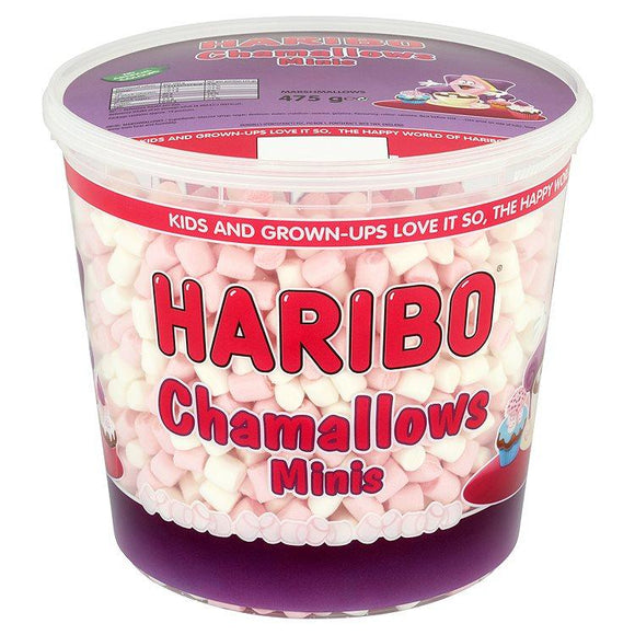 Haribo Chamallows Minis Tub 475G