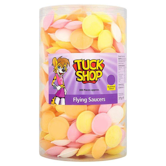 Tuck Shop Flying Saucers Tub Of 300