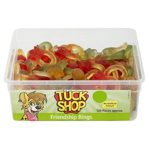 Tuck Shop Friendship Rings Tub Of 120