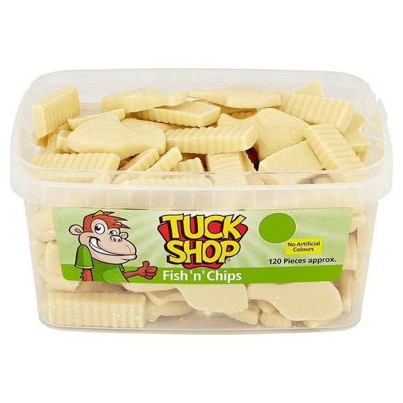 Tuck Shop Fish 'N' Chips Tub Of 120