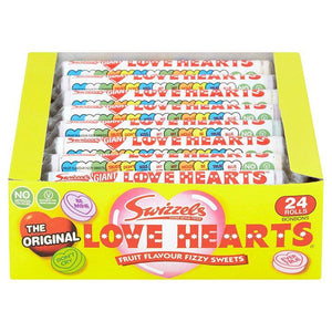 Swizzels Original Love Hearts Box Of 24