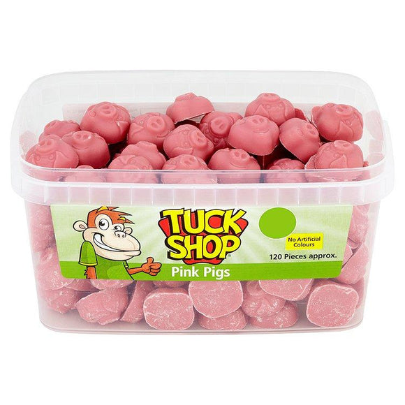 Tuck Shop Pink Pigs Tub Of 120
