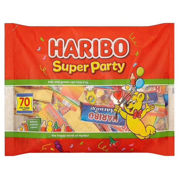 Haribo Super Party 65 Mini Bags