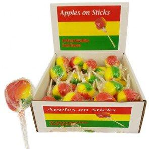 Apples On A Stick Lollies- 36 Count