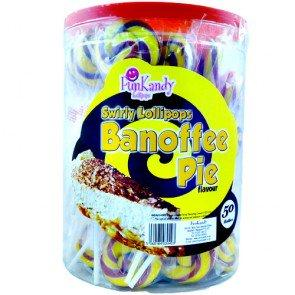 Fun Kandy Banoffee Pops - 50 Count
