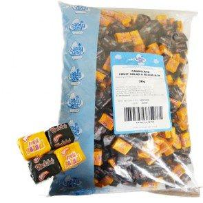 Fruit Salad & Black Jack Chews - 3Kg