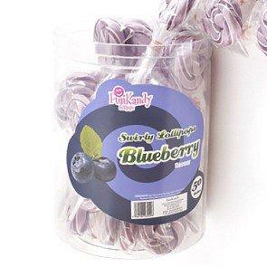Fun Kandy Blueberry Pops - 50 Count