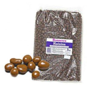 Bonnerex Chocolate Raisins- 3Kg