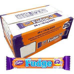 Cadbury Fudge Pm - 60 Count