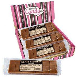 Candy Co Salted Caramel Fudge - 12 Pk