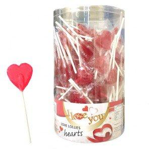 Crest Love Heart Lollipops - 150 Count