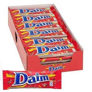 Daim Chocolate Bar - 36 Count