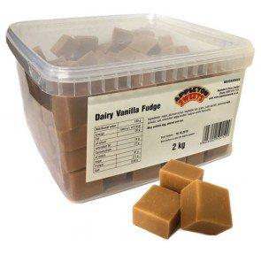 Appletons Dairy Vanilla Fudge - 2Kg