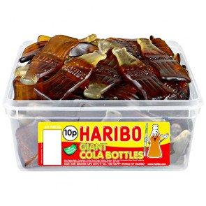 Haribo Giant Cola Bottles - 60 Count