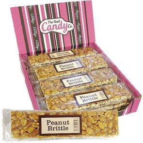 Candy Co Peanut Brittle Bars - 12 Count