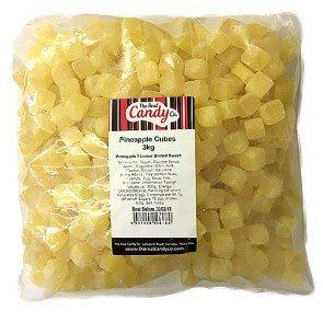 Candy Co Pineapple Cubes - 3Kg