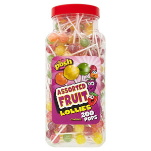 Posh Assorted Fruit Lollies X 200