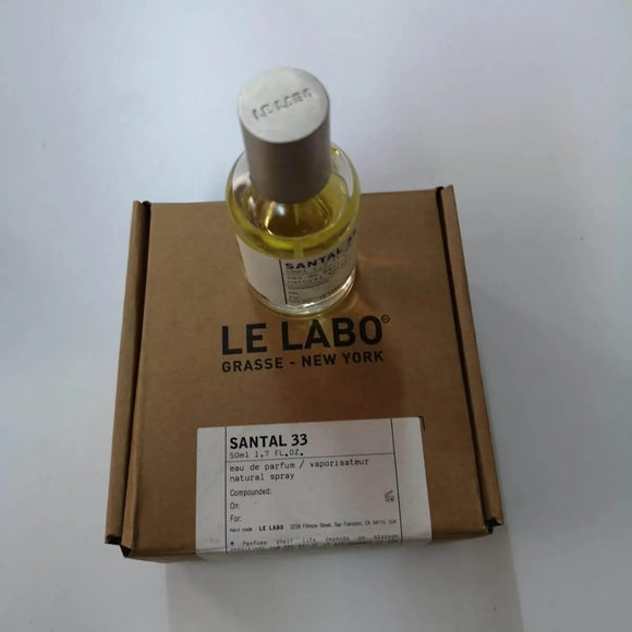 Le Labo Santal 33 for women and men