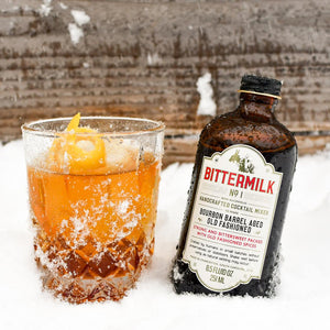 BITTERMILK SINGLE SERVE BOURBON BARREL AGED OLD FASHIONED
