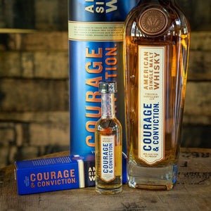 VIRGINIA DISTILLERY CO. COURAGE & CONVICTION AMERICAN SINGLE MALT WHISKY
