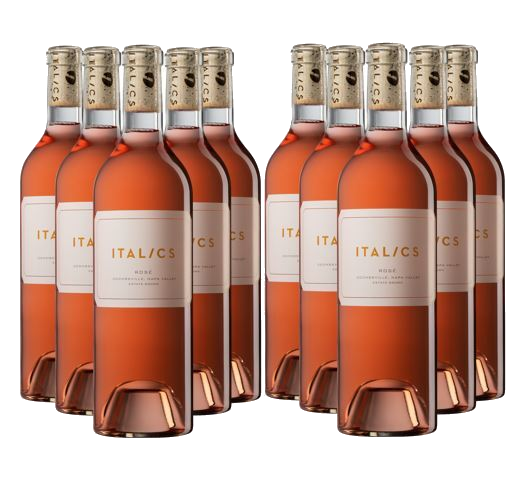 Italics Estate Rose Wine Case