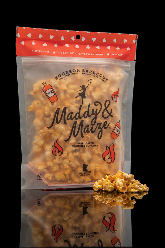 Maddy & Maize Bourbon Barbecue Popcorn (3 Pack)