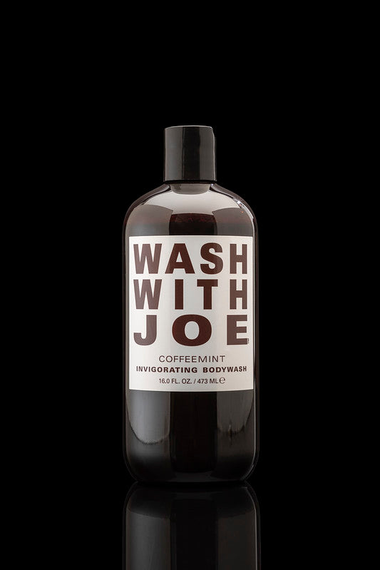 Wash With Joe Original Coffeemint Body Wash 16 fl.oz. (2 Pack)