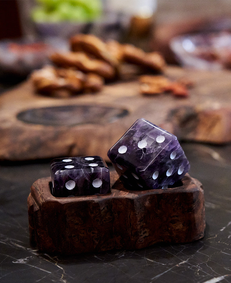 Anna NY Afora Gemstone Dice Set