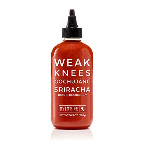 Bushwick Kitchen Weak Knees Goshujang Sriracha Set of 2