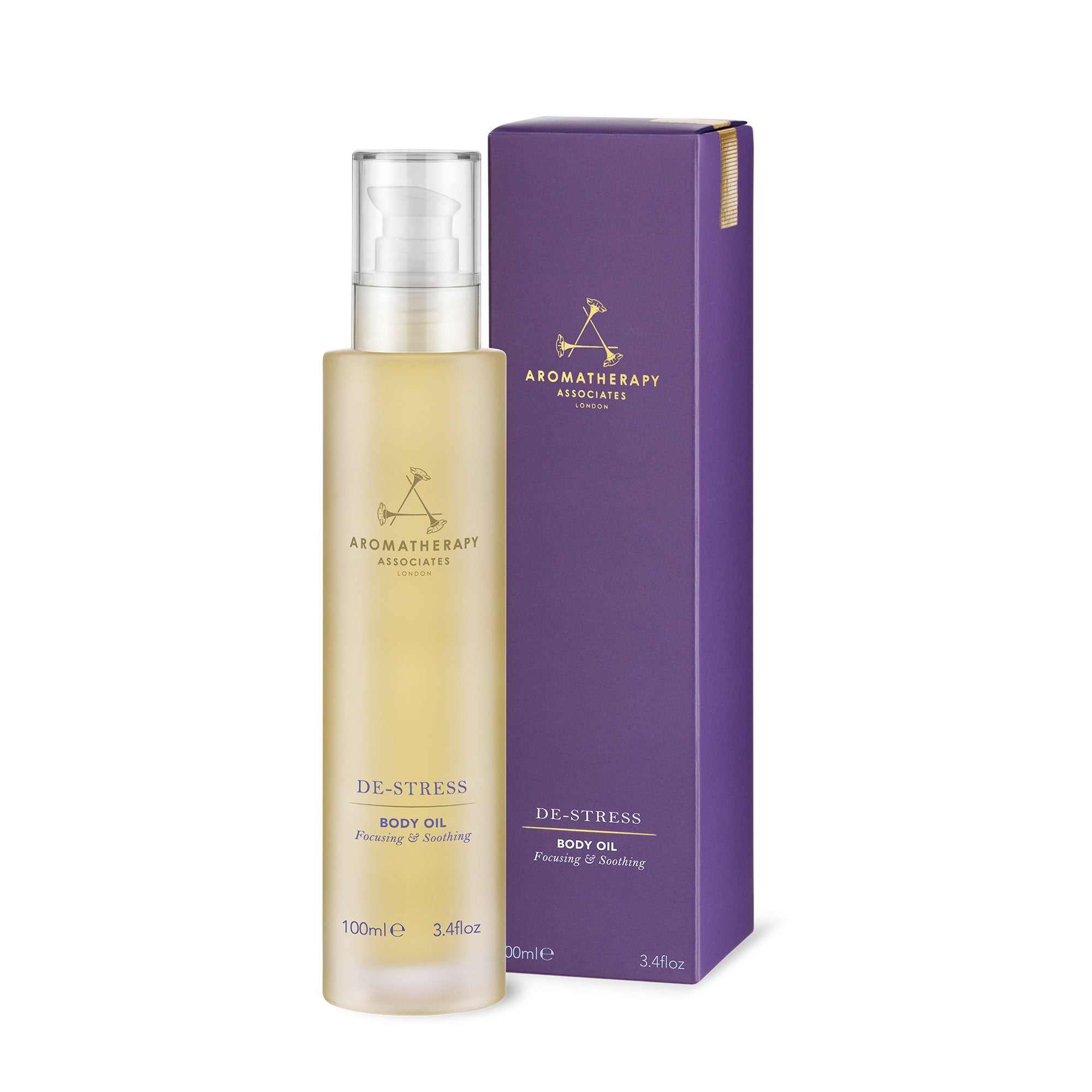 Aromatherapy Associates De-Stress Body Oil