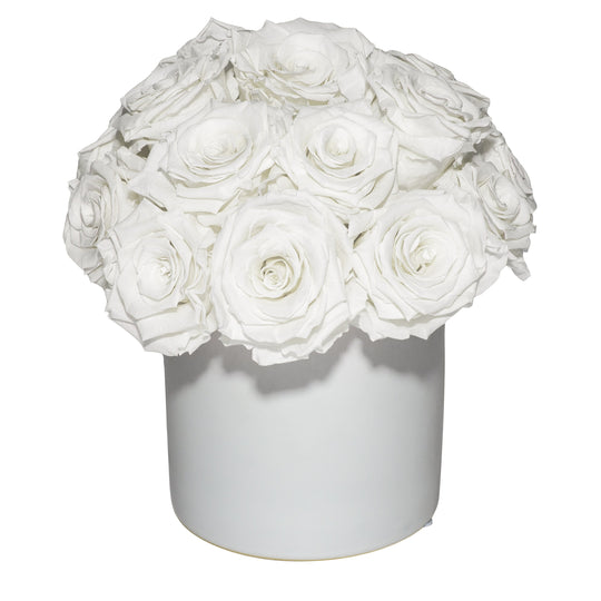 Eternal Fleur Ceramic Pave Bouquet
