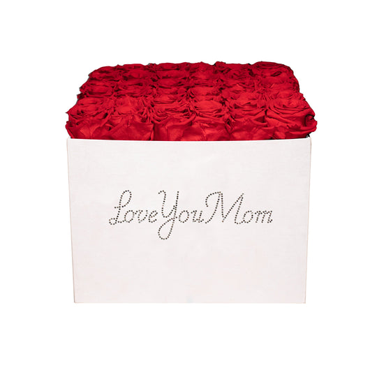 Eternal Fleur Love You Mom Velvet Box