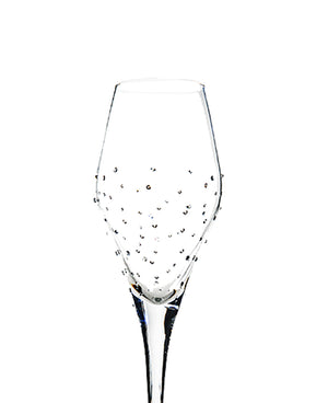 Luxor Crystal Champagne Tulip  (Set of 6)