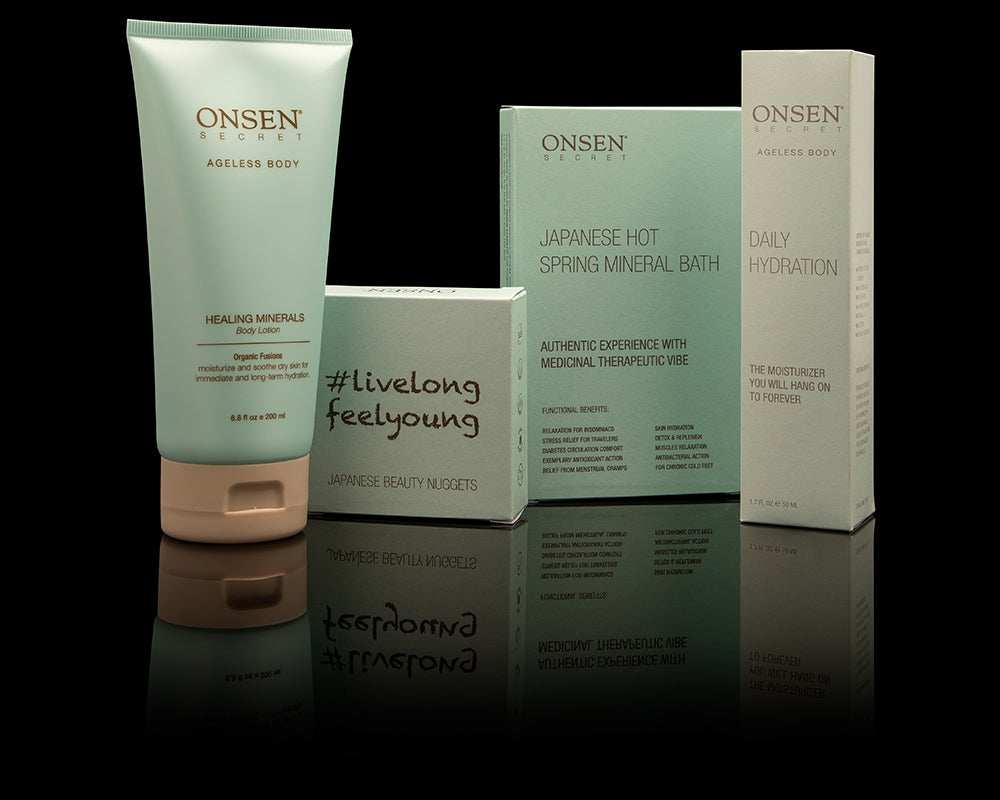 Onsen Secret Skincare Kit
