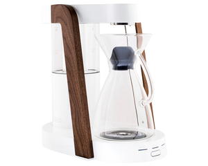 Ratio Eight Walnut White & Glass Carafe