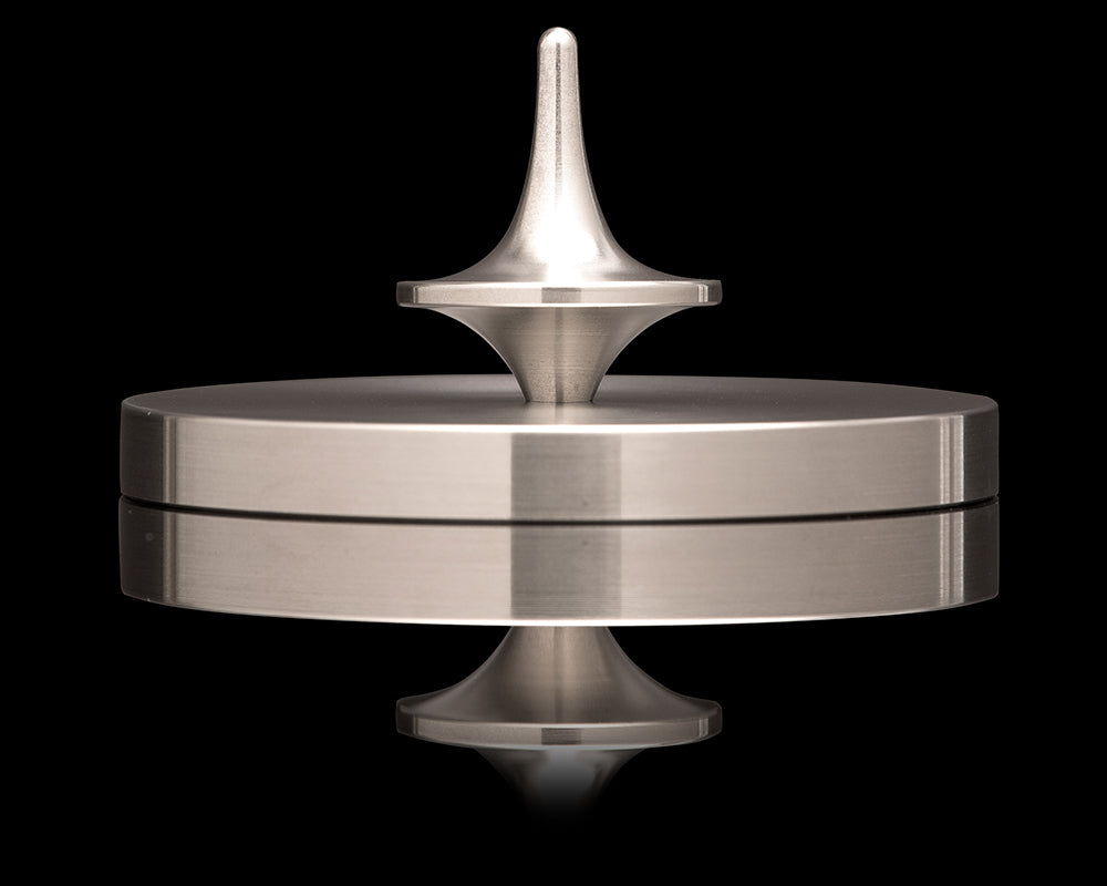 ForeverSpin Spinning Top - Stainless Steel (Set of 2)