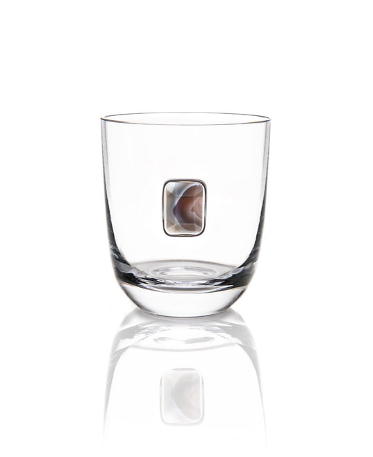 Anna NY Elevo Dof Glasses - Smoke Agate (Set of 2)