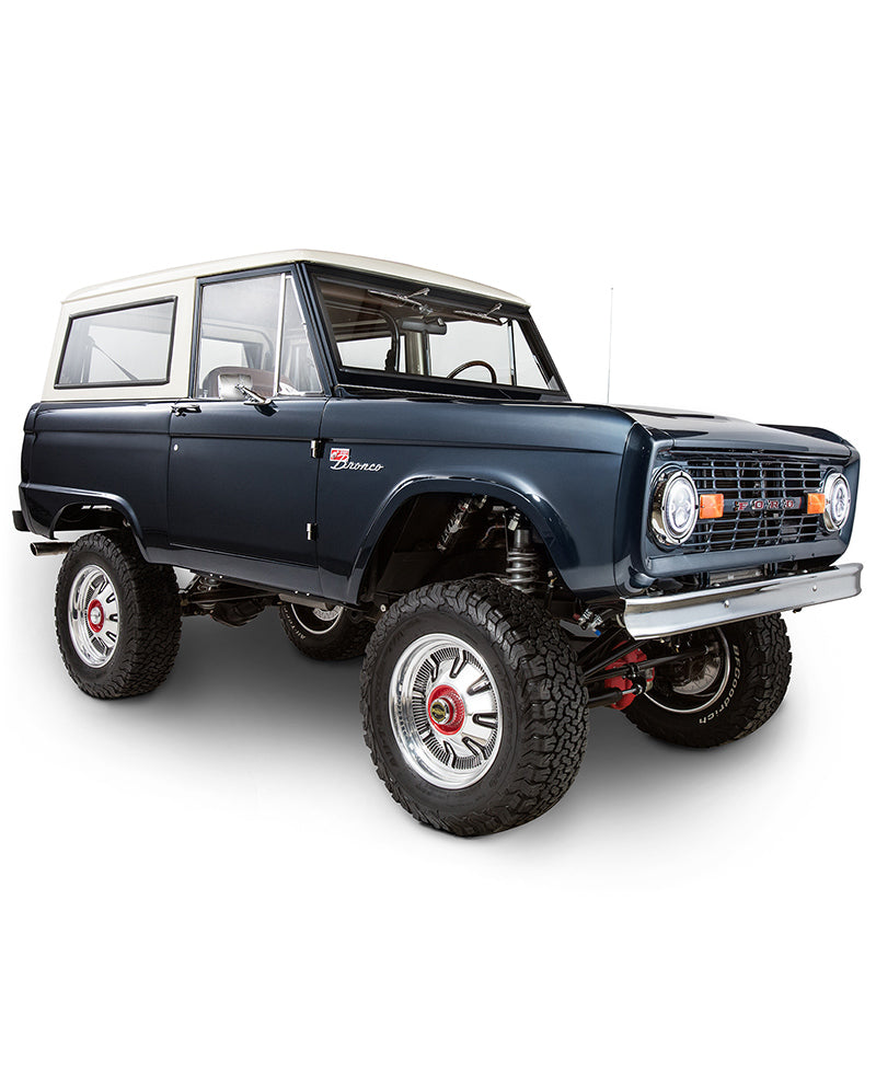 1974 Bronco Modern Day Warrior - Blue (Fully Refurbished Bespoke Build)