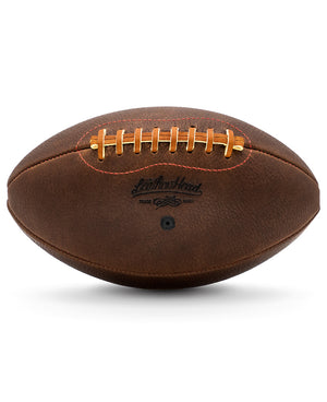 Leather Head Sports Handsome Dan Handmade Football