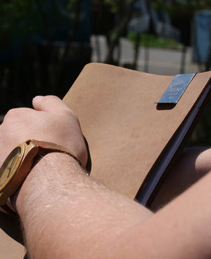 Northbound Notebooks Buffalo Leather Notebook & Paper (Exclusive Slickdeals Price)