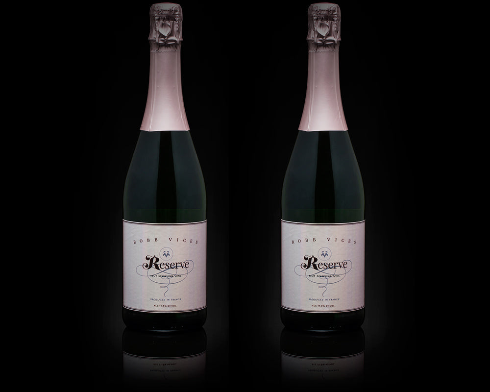 Robb Vices Reserve French Sparking Wine Duo