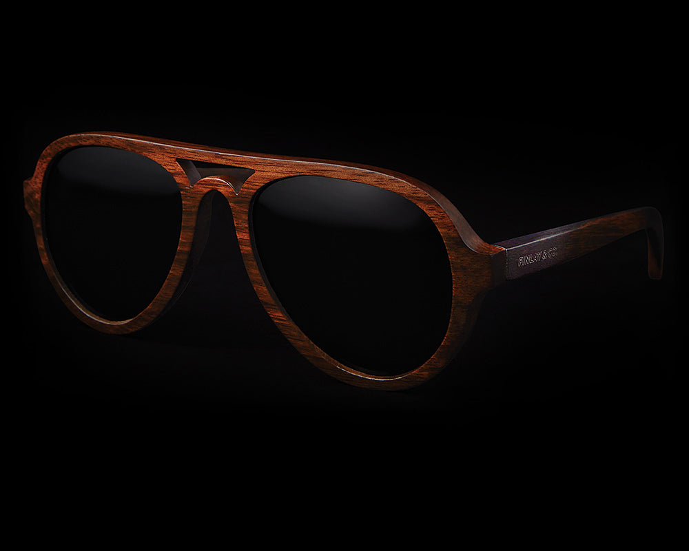 Finlay & Co. Jenson Wooden Sunglasses