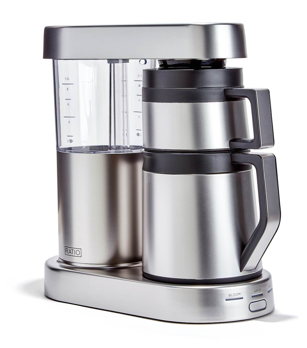 Ratio Six Coffee Maker in Matte Stainless