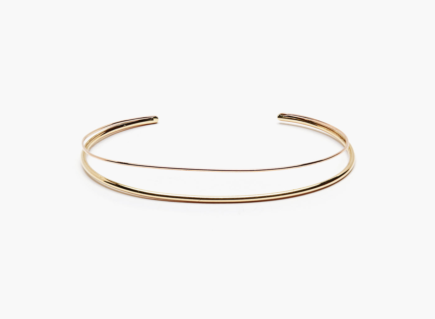 Title of Work Rose Gold Cuff