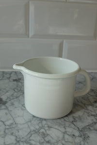 Heirloom Enamel Jug